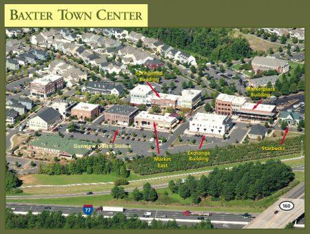 Aerial View of Baxter Village Fort Mills SC Market Street