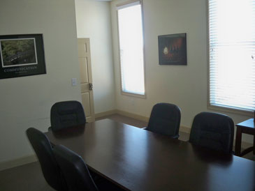 View of Conference Room Sunview Office Suite Baxter Village Fort Mill SC